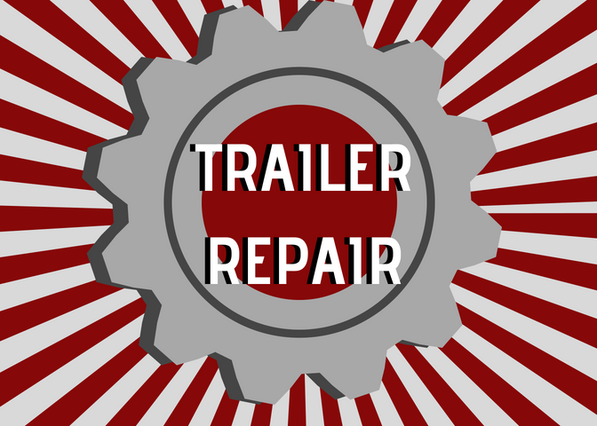 Trailer Repair and Aluminum Welding by our excellent shop crew.