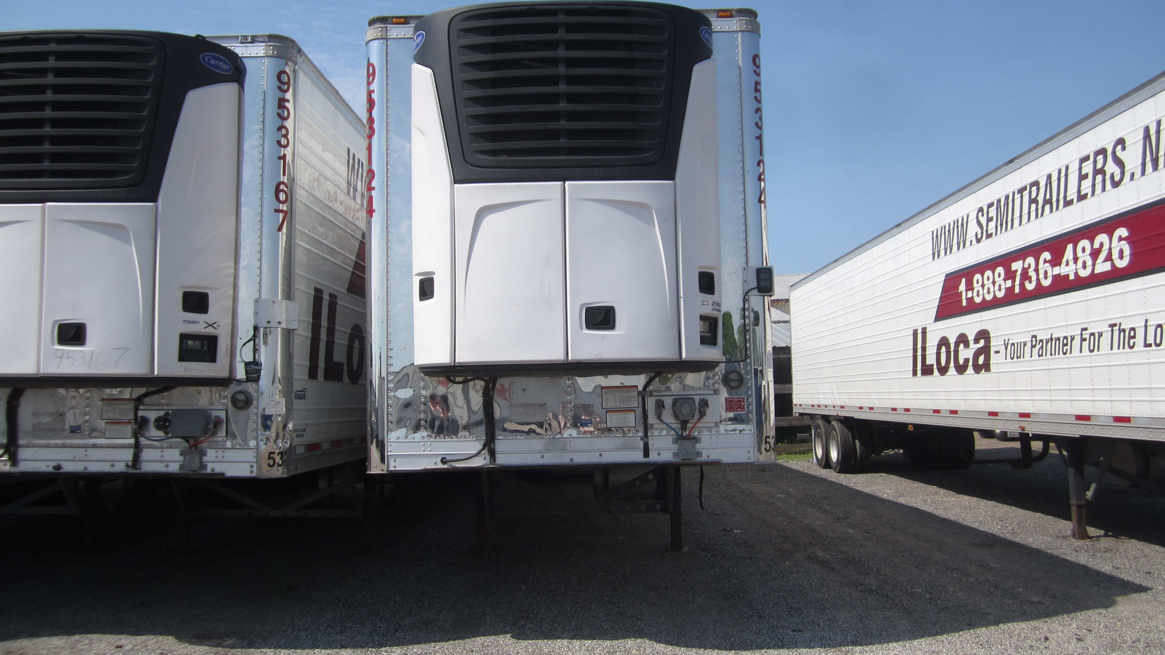 Reefer- Refrigerated Rental Trailers