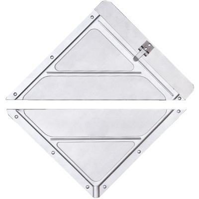 Split Aluminum Placard PLC80-SMP/S97