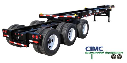 CIMC intermodal 33' Chassis
