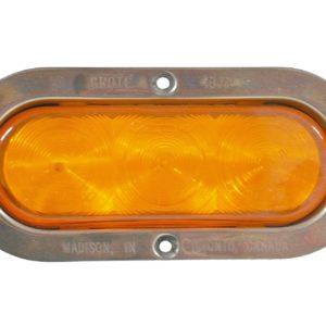 Light includes stainless steel bezel