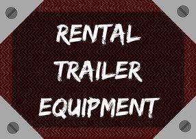 Rental Trailer Equipment