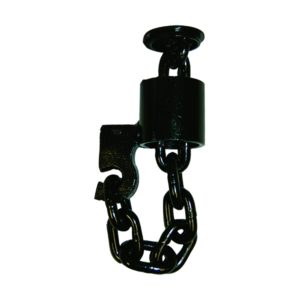 Ancra Floor Chain Tie Down 49345-10 with W.L.L.: 6,000LBS