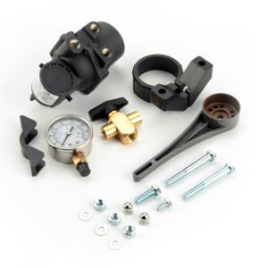 Manual Height Control Valve Kit includes everything shown here
