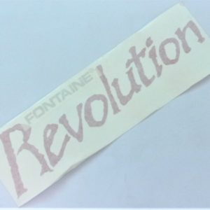 Fontaine Revolution Side Decal 50507217