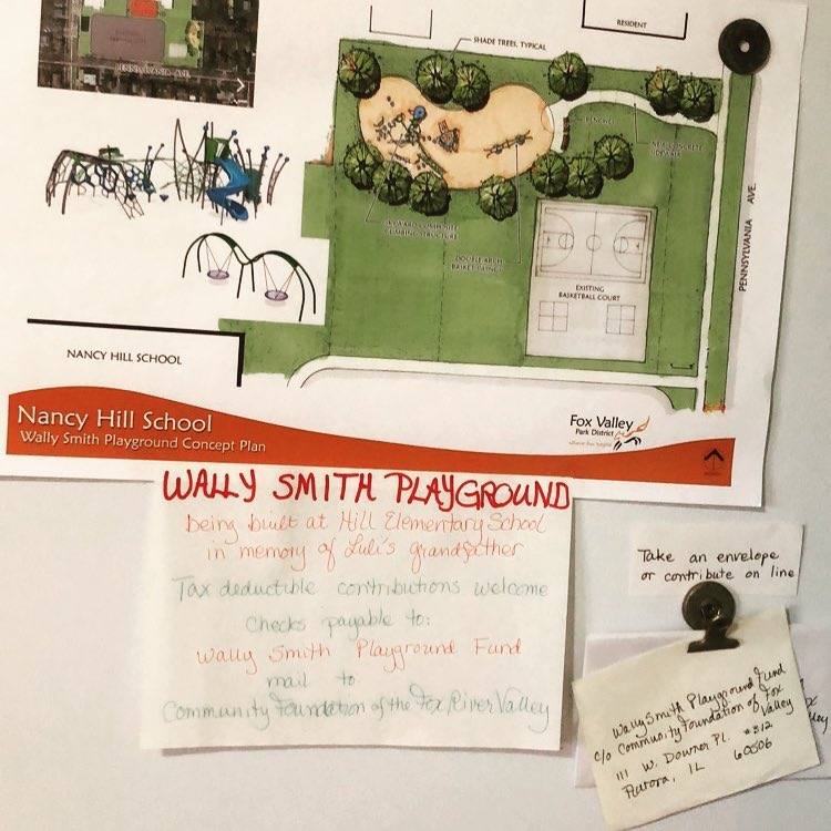 Planning for the Wally Smith Playground Fund has commenced.