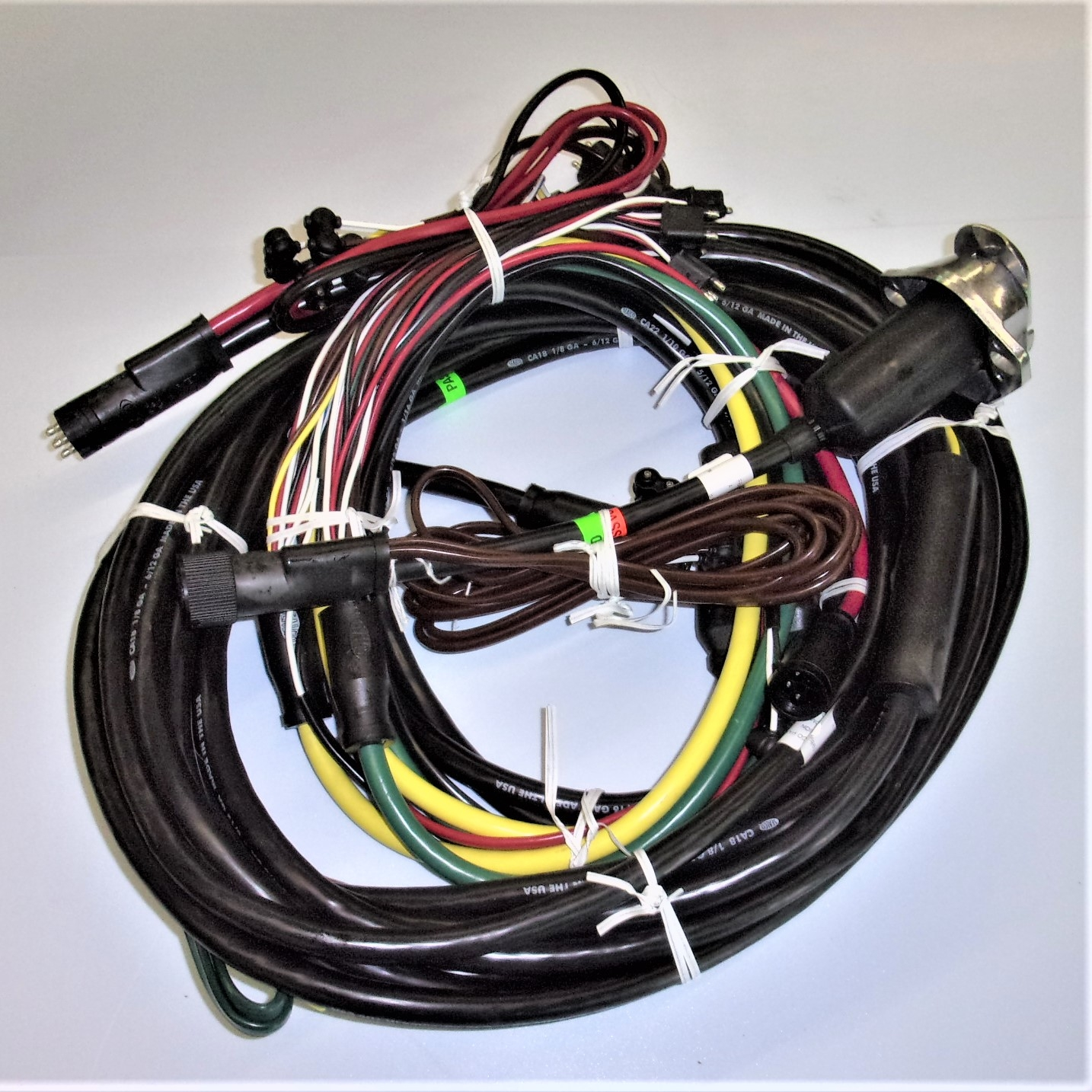 Universal 48' Trailer Wiring Harness Kit | ILoca Services, Inc. | Ww Stock Trailer Wiring Harness For Trailer Lights |  | ILoca Services