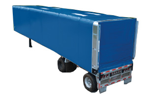 Curtain Side Roll Tarp Trailers