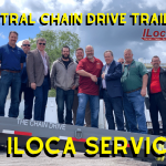 Contral Chain Drive trailers is working with ILoca Services!