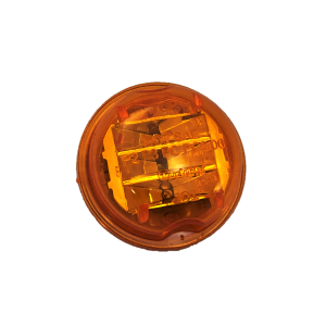 2 in. Round LED Amber Marker Clearance Light TL 30375Y