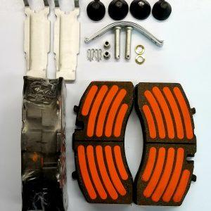 A-Line Disc Pads 23K Hi-Torque D1369 Bendix AK7 ABD22X