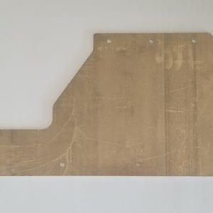Fontaine Aluminum Mudflap Bracket S01664053