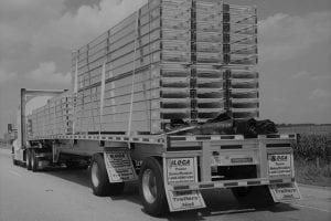 ILoca Semitrailer on the road